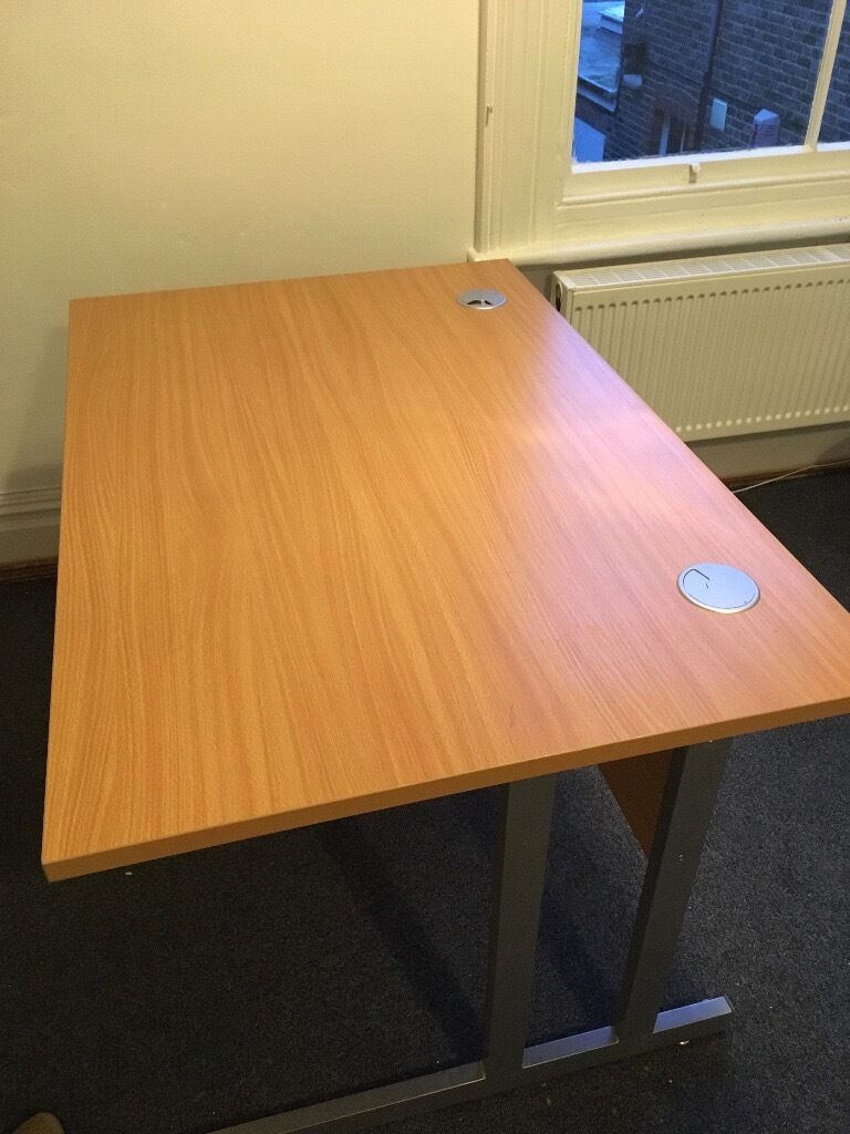 sturdy office desk. sturdy office desk with cable concealers