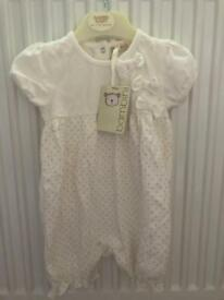 BNWT 3-6 months baby grow