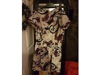 Brand New River Island Floral Jumpsuit Size 8.
