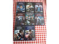 HARRY POTTER COMPLETE COLLECTION! DVD!