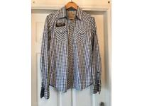 Men's Scotch & Soda designer checked shirt - Medium - great condition