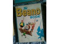 Vintage beano annuals