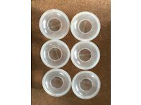 6 x medela collection shells