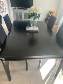 Laura Ashley dining table and 4 chairs