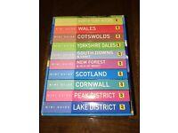 Mini Guide to Britian (AA) set of 10 books