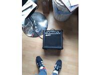 4 guitar bundle and amp