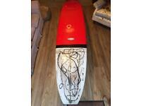 9'6 longboard surfboard