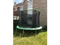 10ft trampoline used once!