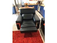 Italian Leather Electric Recliner Chair