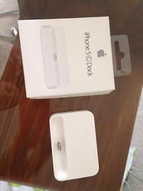 GENUINE Apple 5C dock