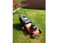 "For Sale Used Petrol Lawn Mower by Champion 18"" Briggs and Stratton Engine"
