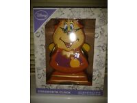 Beauty and the Beast Cogsworth Clock RARE