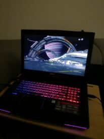 MSI Gaming Laptop 1060GTX 6GB GT72VR 6RD
