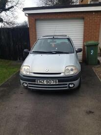 Renault Clio for sale or swap for pit bike or alloys 5x112