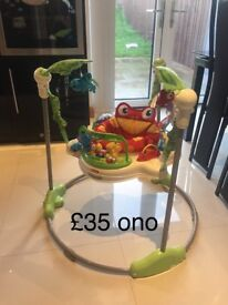 Jumperoo, tummy time mat, Walker, baby musical comfy car