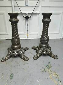 Cast iron tabel legs
