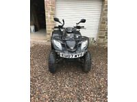Road legal Quad Kymco MXU 250