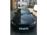 BMW 3 series coupe, 2007, Black