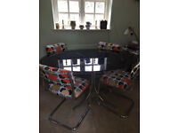 60's Original Retro Table And 4 Chairs