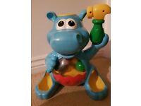 Poppin hippo