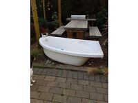 USED BATHROOM SUITE ..........swap for 42 inch or larger led TV