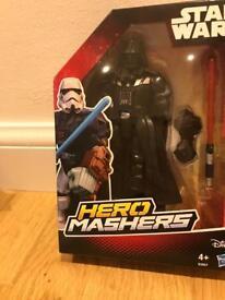 Super Hero Mashers Darth Vader - Good Condition