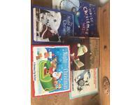 Set of 6 children's Christmas books