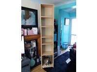 "Bookcase Ikea Billy Bookcase with 4 adjustable shelves measures 79.5"" x 16""x11/4"