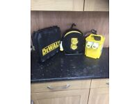Dewalt jigsaw 110v with carry case,transformer and extension lead
