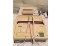 Canon Fax-80 machine, PLUS Fax Friend