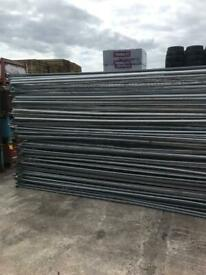 Heras fencing panels site security