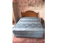 FREE!! Double Divan bed with mattress