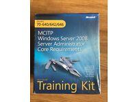 MCITP Windows Server 2008 Server Administrator Core Requirements Training Kit