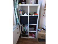 KALLAX White Shelving Unit / Bookcase