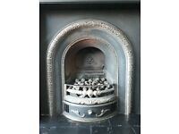 Cast Iron Gas Fireplace