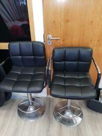 x3 salon chairs