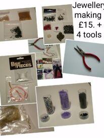 Jewellery making stuff inc.4 new tools