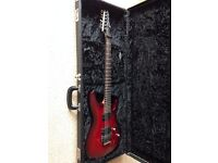 £225 Ibanez S 420 red electric guitar with ZR locking tremolo and hard case