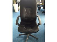 Used IKEA Swivel Chair - Black - Collection Only