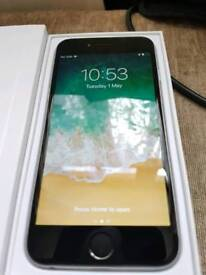 Apple iPhone 6 64gb spacegrey on o2/giffgaff