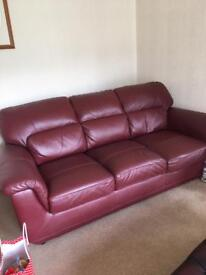 Sofa - Leather extremely good quality