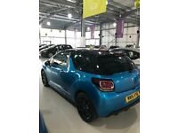 DS3 Bright Blue Citreon - Great Condition
