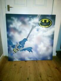 Large Batman Canvas