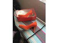 Ladies suede shoes