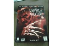The Nightmare On Elm Street Complete DVD Collection boxset for sale.