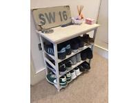 Wooden shoe storage unit for sale