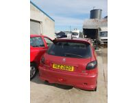 2006 PEUGEOT 206 VERVE 1.4 PETROL breaking for parts only all parts available postage nationwide