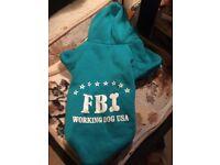 FBI Dog Sweater