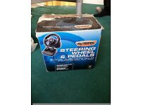 Ps2 steering wheel, very good condition