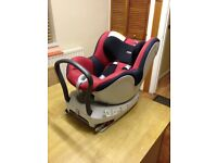 Britax dualfix/isofix car seat for sale.